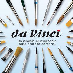 Imagem da notícia: Pincéis da Vinci para protésicos