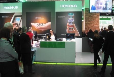 Imagem da notícia: Heraeus Dental marca presença no IDS 2013