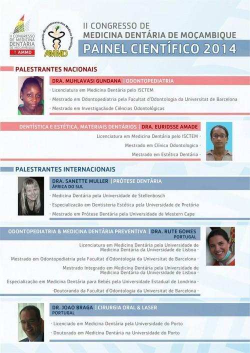 Imagem da notícia: Já há palestrantes confirmados para Maputo