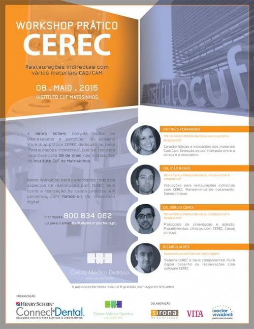 Imagem da notícia: Workshop Prático CEREC