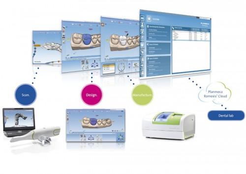 Imagem da notícia: Edente apresenta CAD/CAM™ Lab da Planmeca