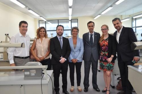 Imagem da notícia: FMDUL inaugurou laboratórios de prótese dentária