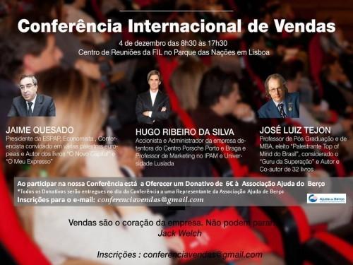 Imagem da notícia: Já se inscreveu na Conferência Internacional de Vendas?