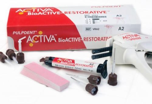 Imagem da notícia: Pulpdent apresenta o material ACTIVA BioACTIVE – RESTORATIVE