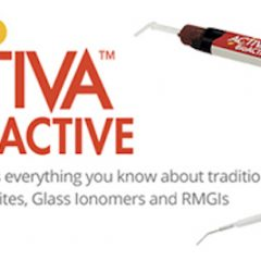 Imagem da notícia: ACTIVA™ BioACTIVE imita propriedades dos dentes