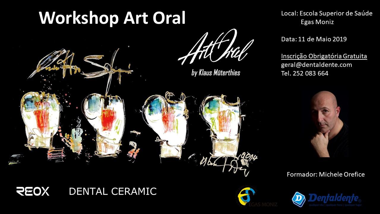 Imagem da notícia: Dentaldente organiza workshop Art Oral