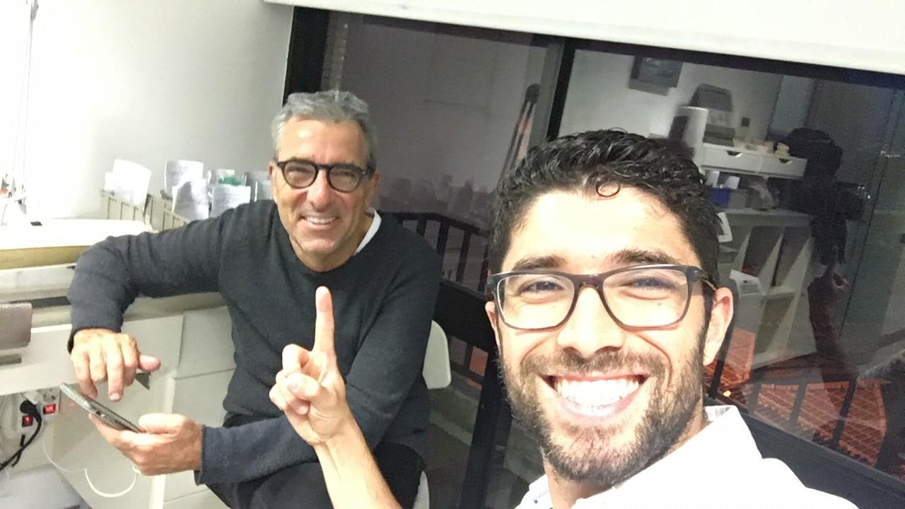 Imagem da notícia: Luís Saraiva junta-se à equipa de August Bruguera