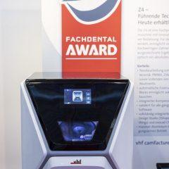 Imagem da notícia: Z4 da vhf recebe Prémio Fachdental