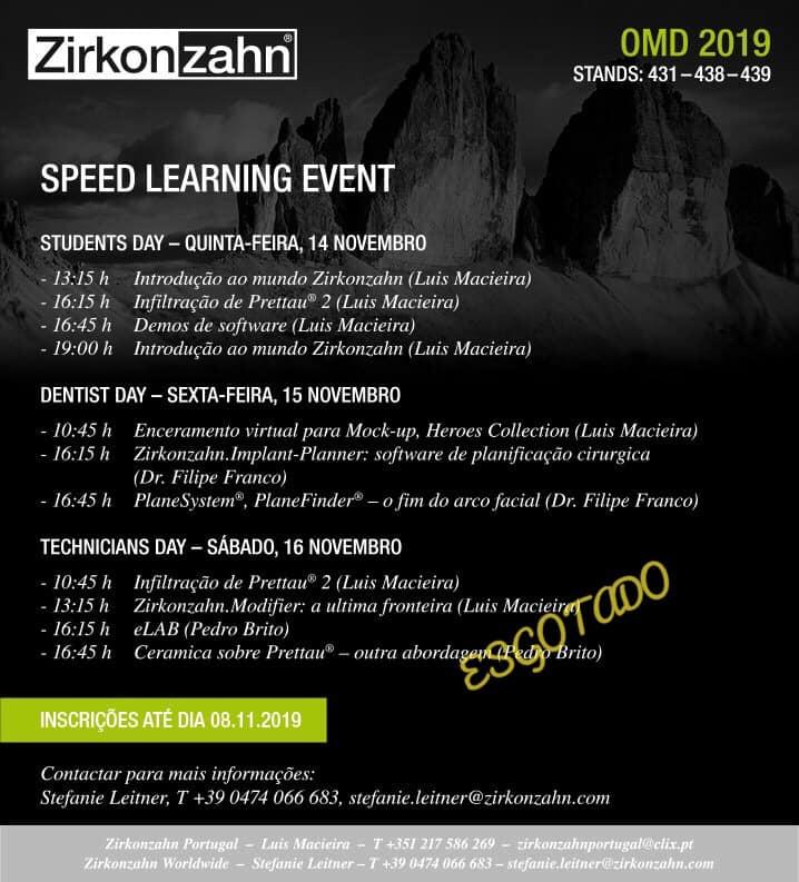 Imagem da notícia: Zirkonzahn organiza Speed Learning Event