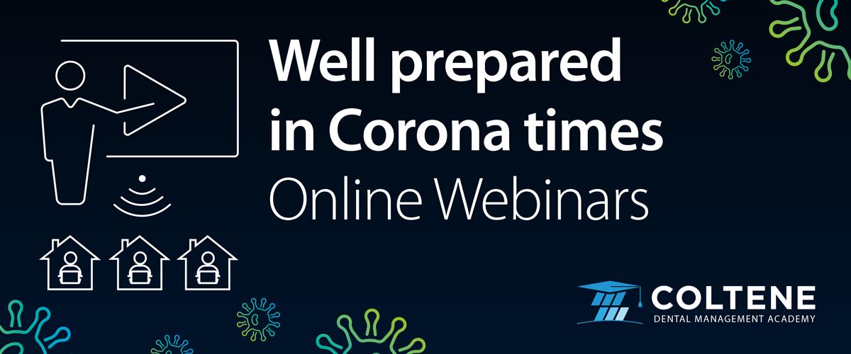 Imagem da notícia: Coltene organiza seminários online em tempos de Covid-19