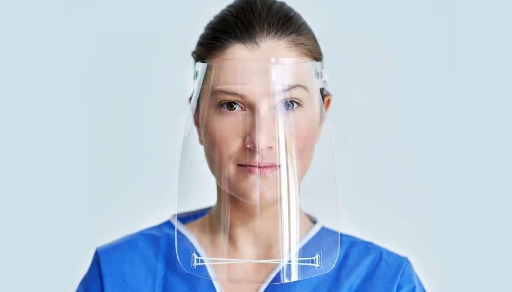 Imagem da notícia: Viseira não pode ser usada sem máscara