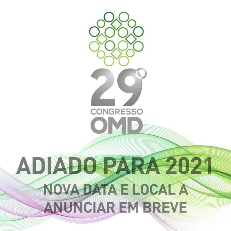 Imagem da notícia: Congresso da OMD e Expodentária adiados para 2021