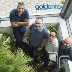 Imagem da notícia: Goldentav ao lado dos laboratórios de prótese dentária