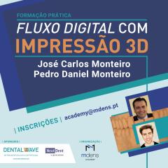 Imagem da notícia: Formação prática: Fluxo Digital com Impressão 3D