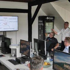Imagem da notícia: Dentalforyou na sede da Dental Concept Systems