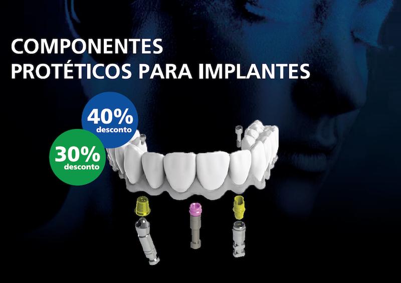 Imagem da notícia: Campanha exclusiva da Argo Baum: componentes protéticos para implantes