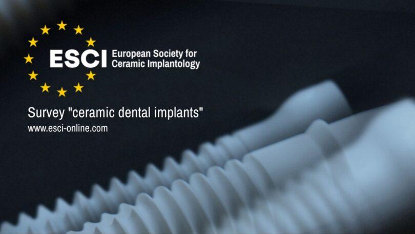 Imagem da notícia: ESCI promove inquérito sobre implantes dentários de cerâmica