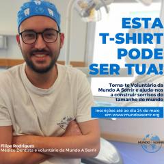 Imagem da notícia: Mundo A Sorrir procura voluntários com formação na área da saúde
