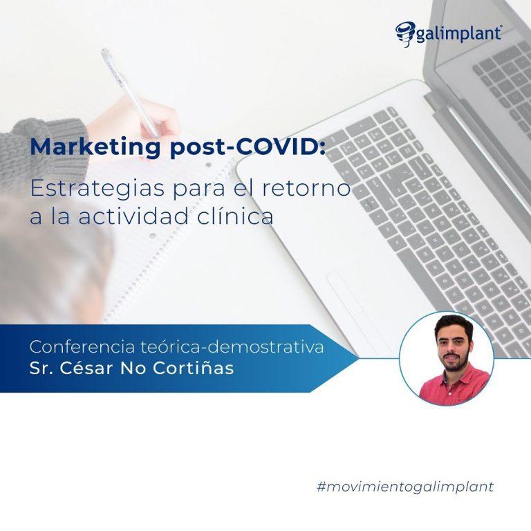 """Imagem da notícia: Galimplant promove formação sobre """"Marketing pós-Covid"""""""
