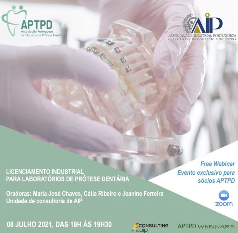 Imagem da notícia: APTPD: próximo webinar dirigido ao licenciamento industrial