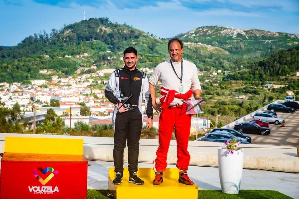 Imagem da notícia: Protésico Ilídio Gameiro conquista o 2º lugar no Constálica Rally Vouzela