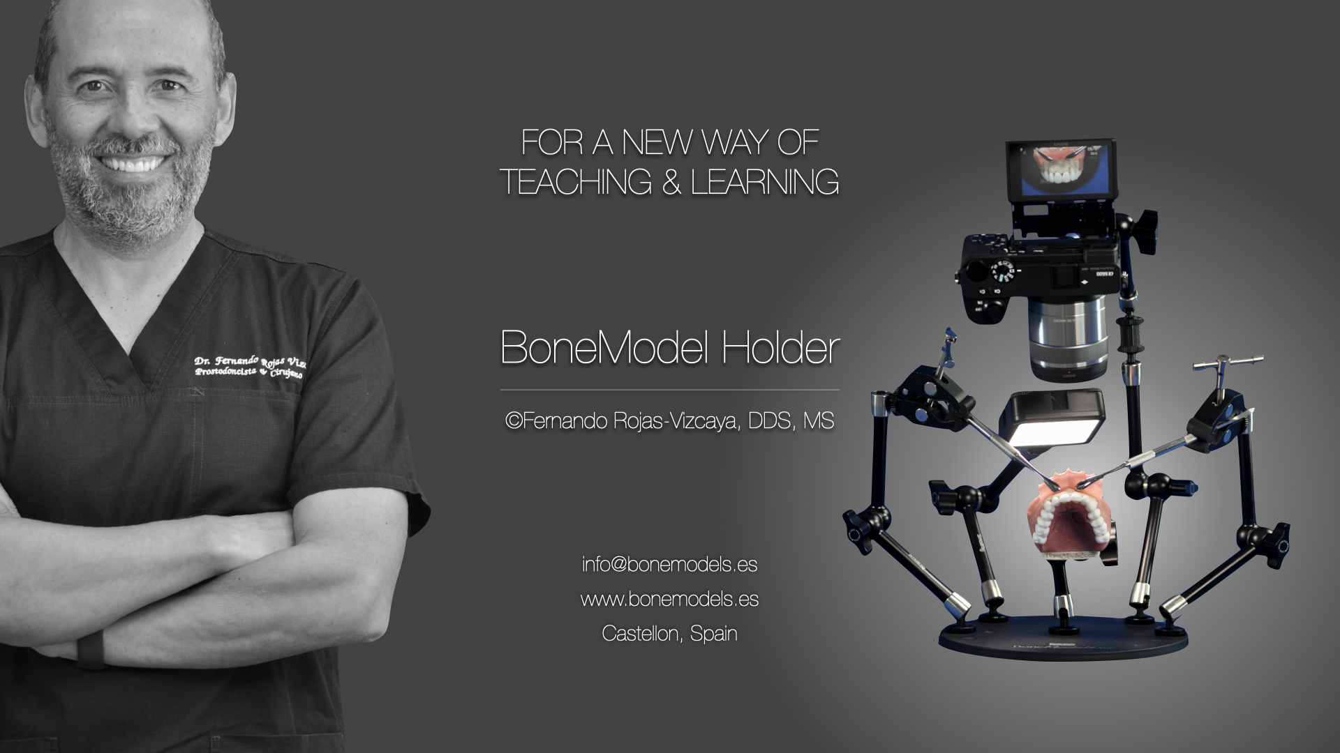 Imagem da notícia: BoneModel-Holder: a nova invenção da BoneModels